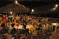 Mexican beach party, scuba club cozumel, Cozumel dinner buffett
